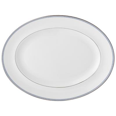 Vera Wang Grosgrain Indigo Oval Platter