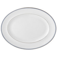 Buy Vera Wang Grosgrain Indigo Oval Platter Online at johnlewis.com