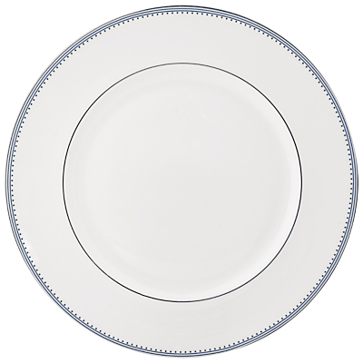 Vera Wang for Wedgwood Grosgrain Noir Dinner Plate