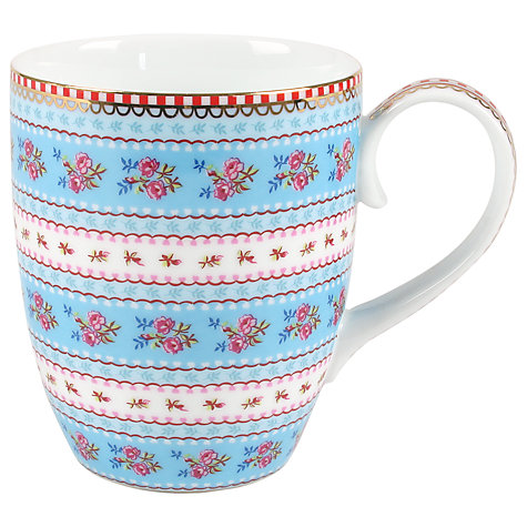 Buy pip studio ribbon rose mug blue john lewis - Pip studio espana ...