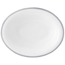 Buy Vera Wang Grosgrain Indigo Open Veg Serving Dish Online at johnlewis.com