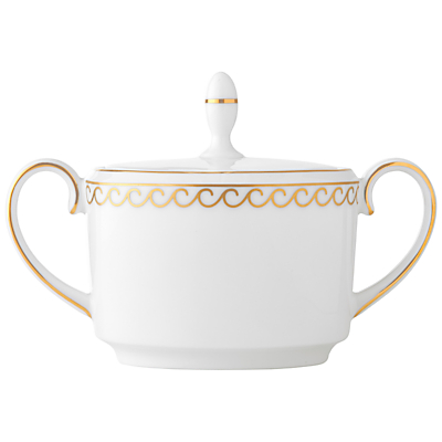 Vera Wang Swirl Bone China Sugar Pot