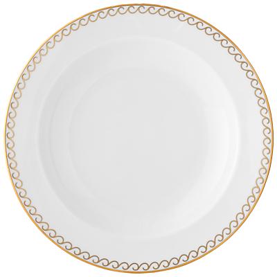 Vera Wang Swirl Bone China Soup Plate