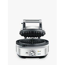 Buy Sage by Heston Blumenthal The No Mess Waffle Maker, Silver Online at johnlewis.com