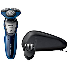 Buy Philips S5600/41 Aquatouch Electric Shaver, Blue Online at johnlewis.com