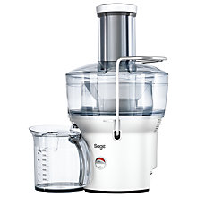 Buy Sage by Heston Blumenthal BJE200SIL The Nutri Juicer Compact, Silver Online at johnlewis.com