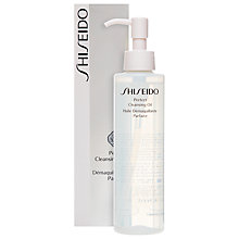 Buy Shiseido Perfect Cleansing Oil, 180ml Online at johnlewis.com