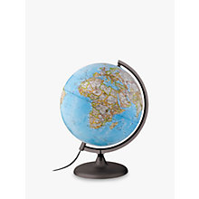Buy National Geographic Classic Globe, Blue, 25cm Online at johnlewis.com