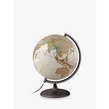 Buy National Geographic Executive Globe, Brown, 30cm Online at johnlewis.com