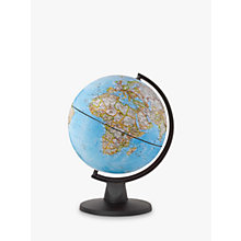 Buy National Geographic Mini Classic Globe, Blue, 16cm Online at johnlewis.com