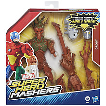 Buy Guardians Of The Galaxy Super Hero Mashers Groot Figure Online at johnlewis.com