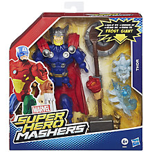 Buy Avengers Super Hero Mashers Frost Giant & Thor Set Online at johnlewis.com