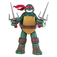 Buy Teenage Mutant Ninja Turtles Battle Shell Figure, Raphael Online at johnlewis.com