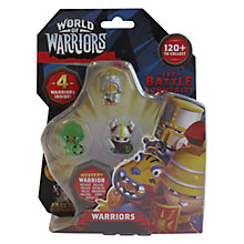 Buy World Of Warriors 4 Pack Online at johnlewis.com
