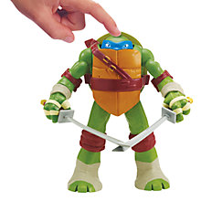 Buy Teenage Mutant Ninja Turtles Head Droppin' Action Figure, Leonardo Online at johnlewis.com