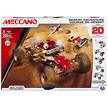 Buy Meccano Desert Adventure 20 Model Construction Set, 260 Pieces Online at johnlewis.com