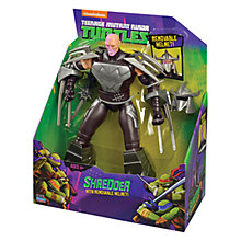 Buy Teenage Mutant Ninja Turtles Shredder Battle Shell Action Figure Online at johnlewis.com