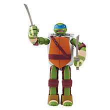 Buy Teenage Mutant Ninja Turtles Mutations Deluxe Action Figure, Leonardo Online at johnlewis.com