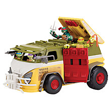 Buy Teenage Mutant Ninja Turtles Party Wagon Vehicle Play Set Online at johnlewis.com