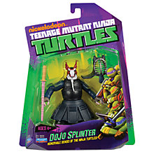 Buy Teenage Ninja Mutant Turtles Dojo Splinter Action Figure Online at johnlewis.com