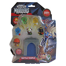 Buy World Of Warriors Battle Temple 8 Pack, Assorted Online at johnlewis.com