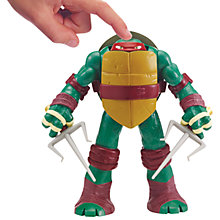Buy Teenage Mutant Ninja Turtles Head Droppin' Action Figure, Raphael Online at johnlewis.com