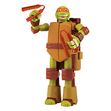 Buy Teenage Mutant Ninja Turtles Mutations Ninja Turtle Into Weapon, Michelangelo Online at johnlewis.com