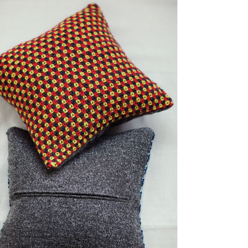 Knitting Pattern John Lewis : Buy Erika Knight for John Lewis Tweed Stitch Cushion Knitting Pattern John ...