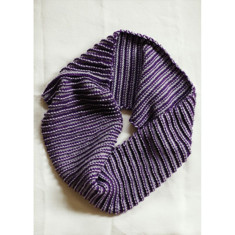 Knitting Pattern John Lewis : Buy Erika Knight for John Lewis Stitch Stripe Snood Knitting Pattern John L...