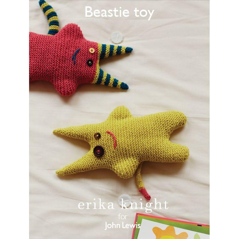 Erika Knight for John Lewis Erika Knight for John Lewis Beastie Toy Knitting Pattern