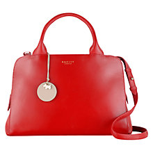 Buy Radley Millbank Medium Multiway Handbag, Red Online at johnlewis.com