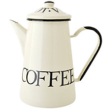 Buy Emma Bridgewater Enamel Coffee Pot Online at johnlewis.com