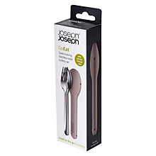 Buy Joseph Joseph GoEat Space-Saving Stainless Steel Cutlery Set Online at johnlewis.com