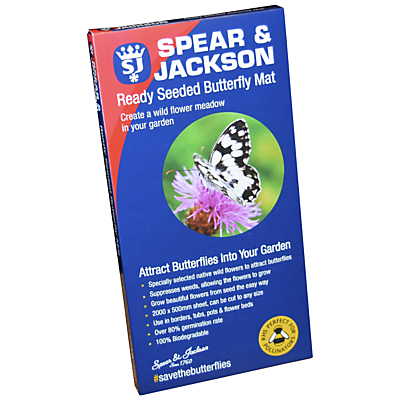 Spear and Jackson Ready Seeded Butterfly Mat, 200 x 50cm