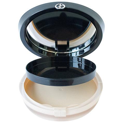 Buy Giorgio Armani Luminous Silk Compact Case John Lewis