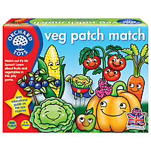 Buy Orchard Toys Veg Patch Match Game Online at johnlewis.com