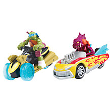 Buy Teenage Ninja Mutant Turtles T-Machines Vehicle 2 Pack Online at johnlewis.com