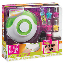 Buy Style Me Up Light Up Nail Dryer Set Online at johnlewis.com
