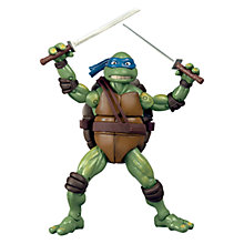 Buy Teenage Mutant Ninja Turtle Classic 1990 Movie Figure, Leonardo Online at johnlewis.com