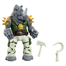 Buy Teenage Mutant Ninja Turtles Rocksteady Action Figure Online at johnlewis.com