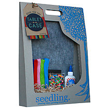Buy Seedling Design Your Own Tablet Case Kit Online at johnlewis.com