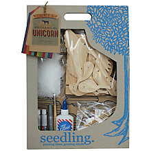 Buy Seedlings Create A Unicorn Craft Kit Online at johnlewis.com