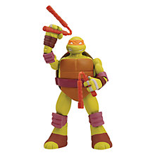 Buy Teenage Mutant Ninja Turtles 9 Inch Head Droppin' Figure, Michelangelo Online at johnlewis.com