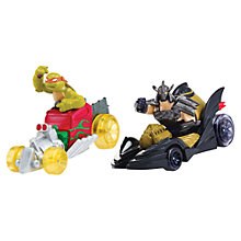 Buy Teenage Mutant Ninja Turtles T-Machines, Mikey & Shredder Vehicles Online at johnlewis.com