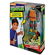 Buy Teenage Mutant Ninja Turtles Mutations Figure, Raphael Online at johnlewis.com