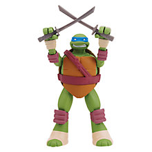 Buy Teenage Mutant Ninja Turtles 9 Inch Head Droppin' Figure, Leonardo Online at johnlewis.com