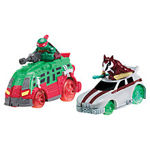 Buy Teenage Mutant Ninja Turtles T-Machines, Raph & Splinter Vehicles Online at johnlewis.com