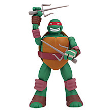 Buy Teenage Mutant Ninja Turtles Head Droppin' 9 Inch Action Figure, Raphael Online at johnlewis.com
