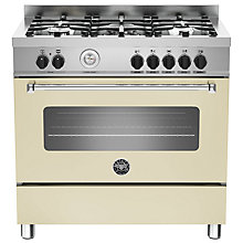 Buy Bertazzoni MAS905MFES Dual Fuel Single Range Cooker Online at johnlewis.com