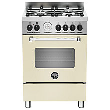 Buy Bertazzoni MAS604MFES Dual Fuel Single Range Cooker Online at johnlewis.com